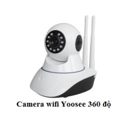 Camera Wifi Yoosee 2 râu xoay 360 độ
