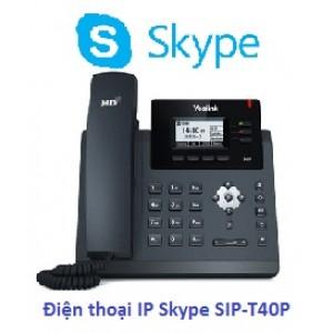 Điện Thoại IP Yealink SIP-T40P Skype