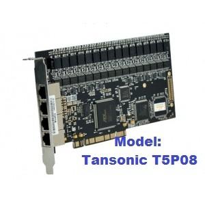 Card ghi âm 8 kênh Tansonic T5P08