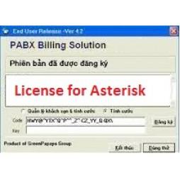 Phần mềm tính cước tổng đài Asterisk