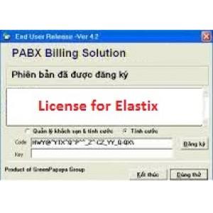 Phần mềm tính cước tổng đài Elastix