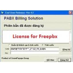 Phần mềm tính cước tổng đài Freepbx