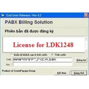 Phần mềm tính cước tổng đài LG LDK1248
