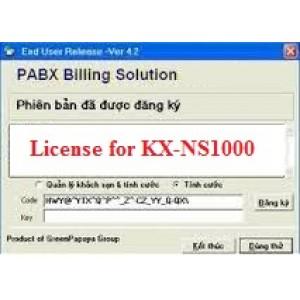 Phần mềm tính cước tổng đài KX-NS1000