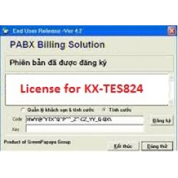 Phần mềm tính cước tổng đài KX-TES824