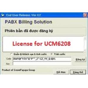 Phần mềm tính cước tổng đài UCM6208