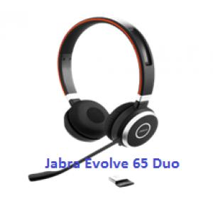 Tai nghe điện thoại ip Jabra Evolve 65 Duo