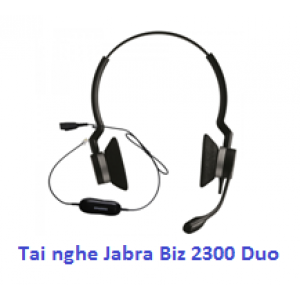 Tai nghe call center Jabra Biz 2300 Duo USB
