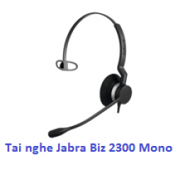Tai nghe call center Jabra Biz 2300 Mono