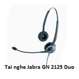 Tai nghe call center Jabra GN2125 Duo