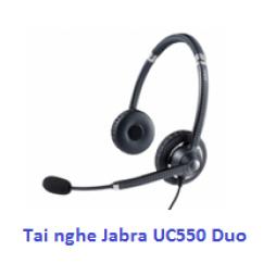 Tai nghe điện thoại ip Jabra UC 550 Duo