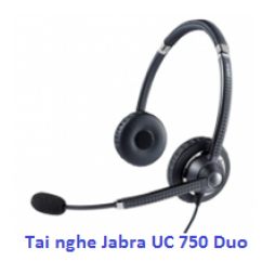 Tai nghe call center Jabra UC Voice 750 Duo