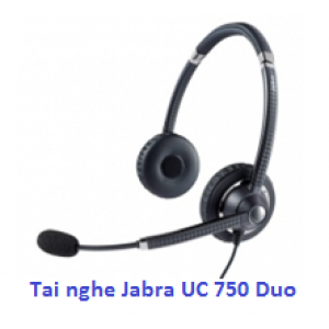 Tai nghe call center Jabra UC Voice 750 Duo