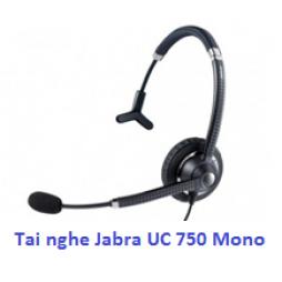 Tai nghe điện thoại Jabra UC Voice 750 Mono