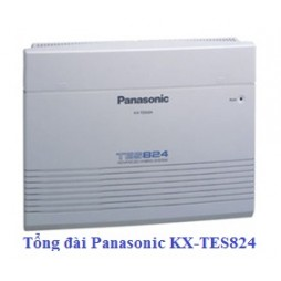 Tổng đài Panasonic KX-TES824: 8 vào 24 ra