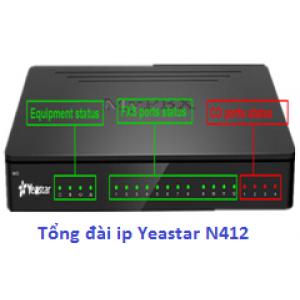 Tổng đài IP MyPBX Yeastar N412