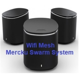 Thiết bị wifi Mesh Swarm của Mercku