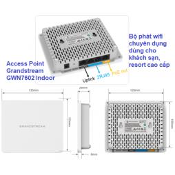 Bộ phát wifi Grandstream GWN7602 Indoor