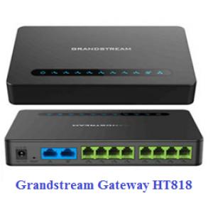 Thiết bị gateway Grandstream ATA HT818