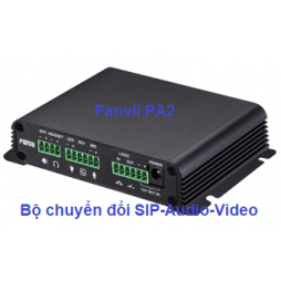 Thiết bị Fanvil PA2 converter audio video