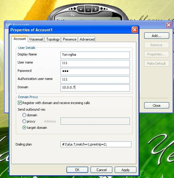 hướng dẫn phần mềm 3CX-14
